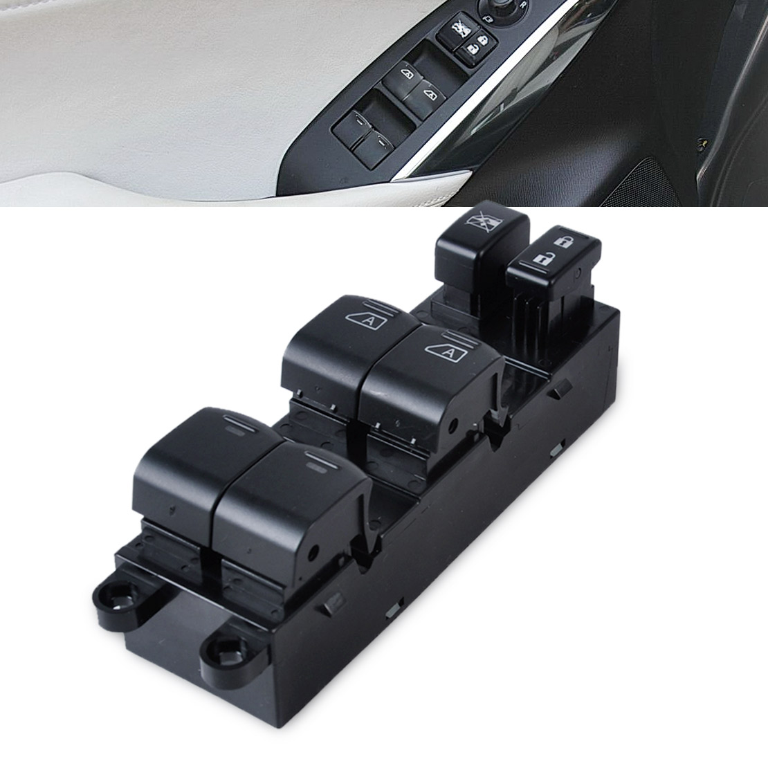Power Window Master Switch 25401