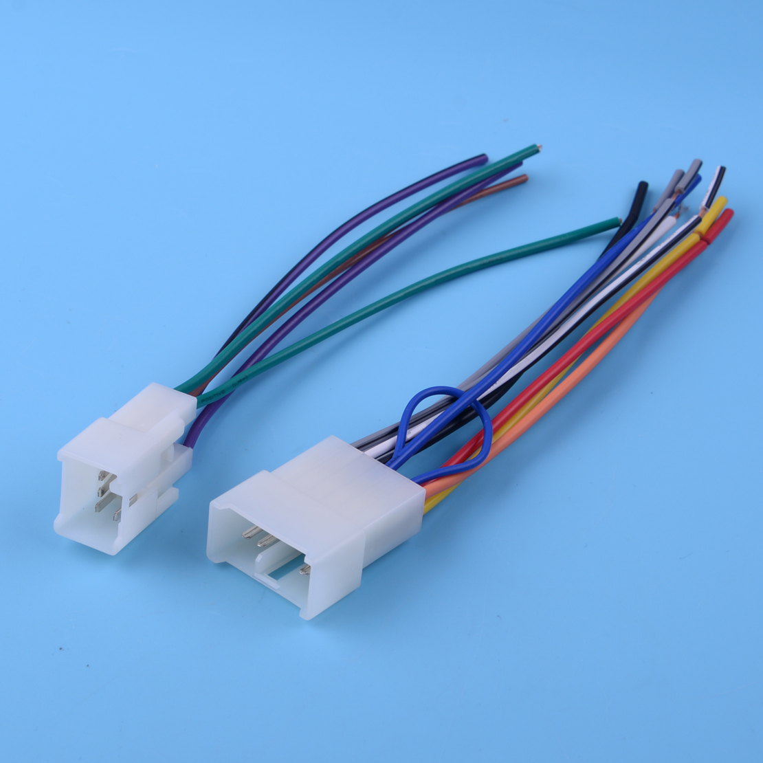 Car Stereo Radio Wire Harness Plug Parts Fit For Toyota